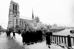 Blanche neige à Notre dame de Paris