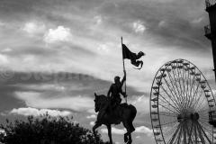 Jeanne d'arc et la grande roue