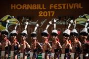 16 tribus du Nagaland au  Hornbill festival - Inde