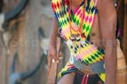 Chuvachu archer pret a se mettre en visee - Hornbill festival Nagaland - Inde