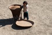 Enfant au Khopi  - Nagaland - Inde