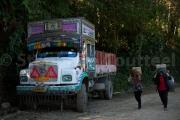 Retour de courses - Nagaland - Inde