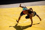 Tournoi de lutte - Hornbill festival Nagaland -Inde