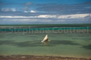 Bateau de peche traditionnel - Baie Topaze - Rodrigues