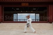 Yoshitaka Taira - karate Kaikan Naha - Okinawa