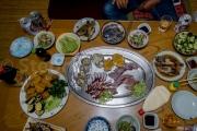 A la table des Ama - Chez Kako et Ji - Toshijima - Japon