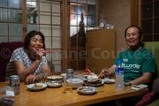 A table avec Kako et Ji - Toshijima - Japon