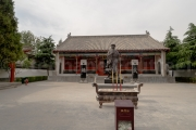 Statue de Chen Wangting fondateur du tai chi - Chenjiagou - Chine