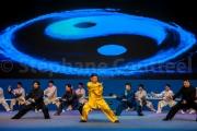 Demonstration de tai chi par Chen Xiao Xing descendant du fondateur du style Chen - Chine