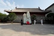 Tai chi au monastère Chenjiagu - Chine