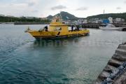 La plongee fait maintenant vivre beaucoup de monde a  Yonaguni - Okinawa