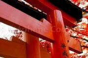 Soleil rouge - Japon