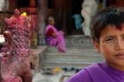Enfant dévot - Népalganj - Népal