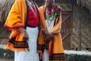 Femmes de la tribu Chakhesang - Hornbill festival Nagaland -Inde