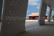 Le Dojo spécial du Karaté kaikan et la modernité du bâtiment principal - Naha- Okinawa