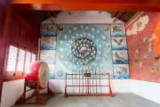 peinture sur la grande forme  tai chi avec 83 mouvements - Chenjiagou - Chine