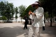 Pratiquants de Tai chi a l'ecole Chen - Chenjiagou - Chine