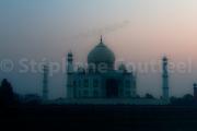 Taj Mahal  aureole - Inde