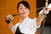 La tension relachee - Kyudo 弓道 - Japon