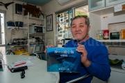 Kihachiro Aratake decouvreur des ruines de Yonaguni - civilisation humaine ou curiosité naturelle ?