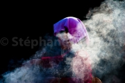Volutes de fumée d'encens -Bodhnath - Népal